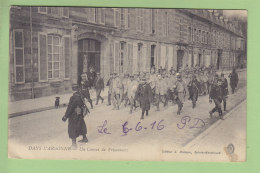 Un Convoi De Prisonniers Allemands Dans L'Argonne. 2 Scans. Edition Moisson à Sainte Menehould - Oorlog 1914-18