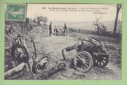 Débris De La Retraite Allemande Route De L'Aisne. Victoire De La Marne. 2 Scans. - Guerre 1914-18