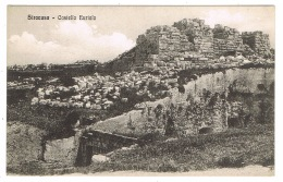 RB 1158 -  Early Postcard - Castello Eurialo Siracusa - Sicily Italy - Siracusa