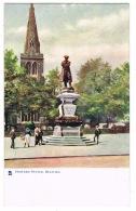 RB 1159 - Early Raphael Tuck Postcard - Howard Statue Bedford - Bedfordshire - Bedford