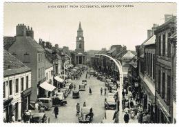 RB 1160 -  Postcard - High Street From Scotsgates - Berwick-on-Tweed Scotland - Berwickshire