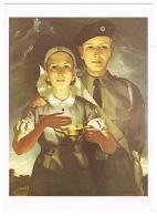 RB 1162 - Postcard St John Ambulance Cadets - From 1952 Publicity Poster - Nursing Health - Health