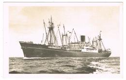 "RB 1162 - France Ship Compagnie Des Messageries Maritimes Le Navire De Charge ""Mekong"" - Paquebote"