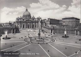 Vatican - Panorama - Place St. Pierre - Nice Stamp (1963) - Vatikanstadt