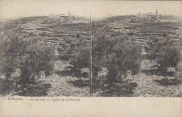 Palestine - Carte Stéréoscopique - Bethléem - Couvent Et Eglise De La Nativité - Palestine