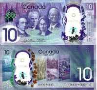 CANADA - 10 DOLLARS 2017 (150 Th Anniversary Of Canada) UNC - Canada