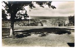 RB 1164 - Real Photo Postcard - View From Victoria Falls Hotel Zambia Rhodesia Zimbabwe - Zambia