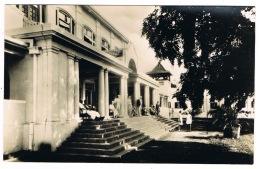 RB 1164 - Real Photo Postcard - Front Porch Victoria Falls Hotel Zambia Rhodesia Zimbabwe - Zambia