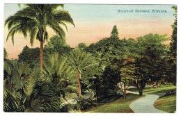 RB 1164 - Early Postcard - Botanical Gardens Brisbane - Queensland Australia - Brisbane