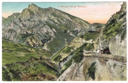 RB 1164 - 1914 Postcard - In Skippers Gorge Wakatipu Near Queenstown New Zealand - Nouvelle-Zélande