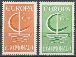 MONACO 1966 Mi-Nr. 835/36 ** MNH - CEPT - Europa-CEPT