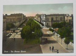LECCE - Via Oronzo Quarta - Animata - 1954 - Lecce