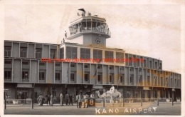 Kano Airport - With The Compliment Of Sabena - Nigeria