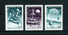 Rusia  Nº Yvert  3687/9  En Nuevo - 1923-1991 URSS