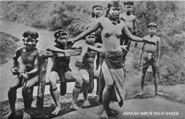 MALAISIE - Ethnic H / Kenyah Girl's Solo Dance - Nude - Nu Féminin - Malaysia