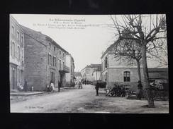 CPA D71 Igé, Route De Macon - Frankreich