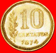 § LIBERTY: ARGENTINA ★ 10 CENTAVOS 1974! LOW START★ NO RESERVE! - Argentine