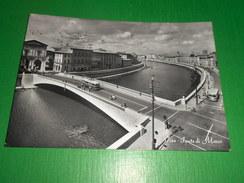 Cartolina Pisa - Ponte Di Mezzo 1958 - Pisa