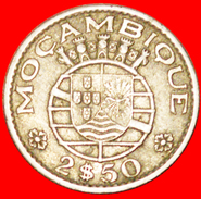 § COLONY OF PORTUGAL: MOZAMBIQUE ★ 2.50 ESCUDOS 1965! LOW START★ NO RESERVE! - Mozambique
