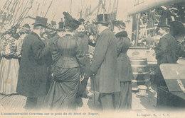 OOSTENDE /  DE AALMOEZENIER CUYPERS OP HET DEK VAN DE DE SMET DE NAYER 1908 - Oostende