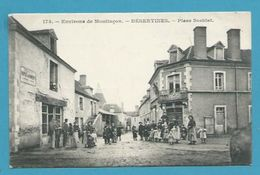 CPA 173 - Place Soehlat DESERTINES Environs De Montluçon 03 - Francia