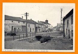 54. Ville-en-Vermois. Grande Rue. Mairie, école, écoliers - Autres Communes