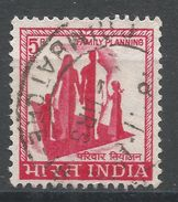 India 1967. Scott #408 (U) Family Planning, Famille - Inde