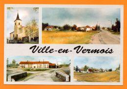 54. Ville-en-Vermois. Peintures Originales De Josette Bord - Autres Communes
