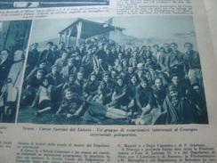 GENTE NOSTRA 1931 SESANA SUBIACO TAGLIACOZZO - Libros, Revistas, Cómics