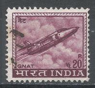 India 1967. Scott #413 (U) Gnat Plane, Avion - Inde