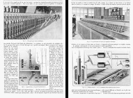 LES LEVIERS ELECTRIQUES Dans Les CHEMINS DE FER  1905 - Chemin De Fer