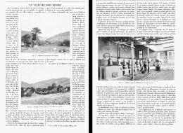 LA VALLEE DES ROSES BULGARE    1905 - Parfums & Beauté