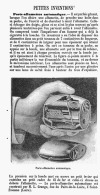 PORTE-ALLUMETTES AUTOMATIQUE  1905 - Tabak (verwante Voorwerpen)