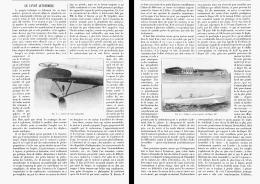 LE CANOT AUTOMOBILE   1905 - Bateaux
