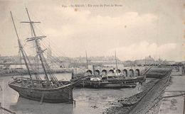¤¤   -  834   -  SAINT-MALO   -   Un Coin Du Port De Marée  -  Bateaux  -   ¤¤ - Saint Malo