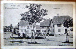 68 PFETTERSHAUSEN GRUSS AUS  HAUTSTRASSE PETITE ANIMATION FONTAINE - Autres Communes