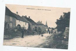 FRETIGNEY ET VELLOREILLE (HAUTE SAONE) ROUTE DE BESANCON (EGLISE ET ANIMATION) - Frankreich