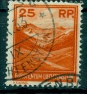 Liechtenstein. Landschaften Und Gebäude Nr. 119 Gestempelt - Liechtenstein