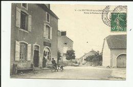 70 - Haute Saone - La Neuvelle Les La Charité - Route De Noidans Le Ferroux - Le Centre - Vélo - - Autres Communes