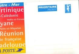Entier Enveloppe BRIAT , 500 Grs . Outre - Mer . Neuve . ( 33 X 24,5 ) - Prêts-à-poster: Other (1995-...)