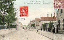 CPA - LUNEVILLE (54) - Aspect Des Casernes Du Quartier Stainville De La Rue De'Alsace En 1908 - Luneville