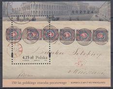 POLONIA 2010 HB-185 USADO - Blocks & Sheetlets & Panes