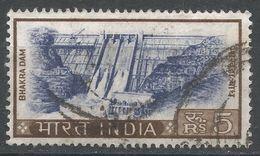 India 1967. Scott #421 (U) Bhakra Dam, Punjab. Barrage De Bhakra - Inde