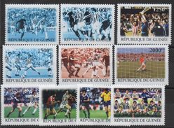 Guinée Guinea 2004 Mi. ? Football Fußball Soccer MNH** 10 Val. RARE ! - Guinea (1958-...)