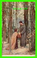 RELIGIONS - VITA DI S. FRANCESCO - LA VIE DE SAINT-FRANÇOIS - UN DISCEPOLO BENVENUTO - BIENVENUE À UN DISCIPLE - - Saints