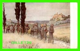 RELIGIONS - VITA DI S. FRANCESCO - LA VIE DE SAINT-FRANÇOIS - IN VIAGGIO PER ROMA - EN ROUTE POUR ROME - - Saints