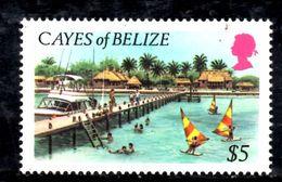 T1078 - CAYES BELIZE , 5 Dollari Yv N. 9  ***  MNH. - Belize (1973-...)