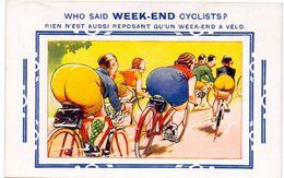 CP - Humor Humour - Weekend Cyclists - Koers - Weekend à Vélo - Humor