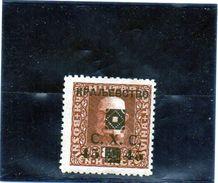 B - 1919 Jugoslavia - Soprastampa C.X.C. Su Francobollo Della Bosnia (linguellato) - Usados