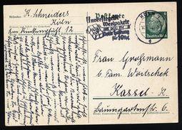 A4708) DR Werbe-Privatganzsache Von Köln 50 Jahre KCP - Briefe U. Dokumente